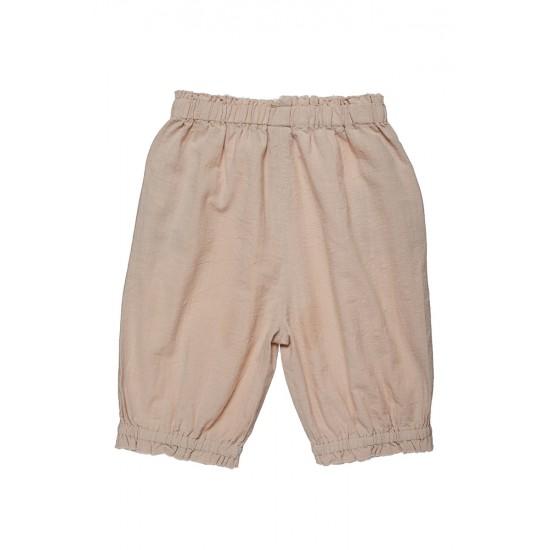 Pantaloni  cu franjuri si nasturi in fata